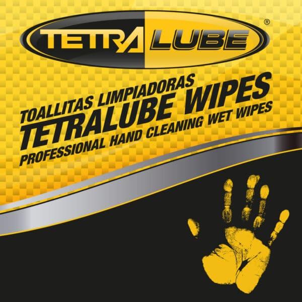 Foto Etiqueta Toallitas Limpiadoras Tetralube