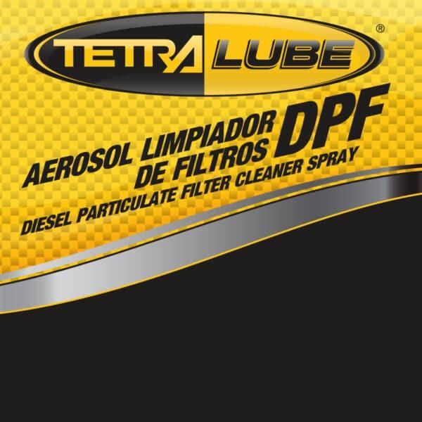 Foto Etiqueta Limpiador Filtro DPF Aerosol