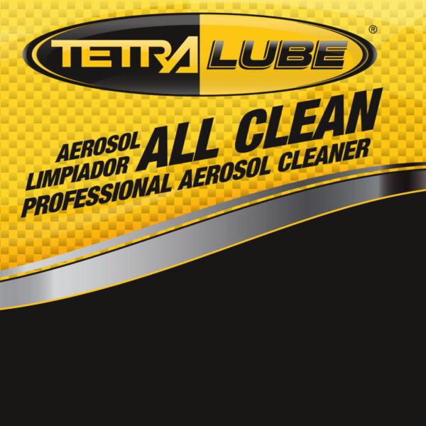 Foto Etiqueta All Clean Aerosol Limpiador